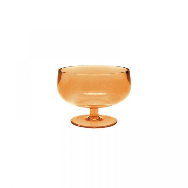 Pucharek na lody 10 cm Zak! Designs pomarańczowy 0828-660