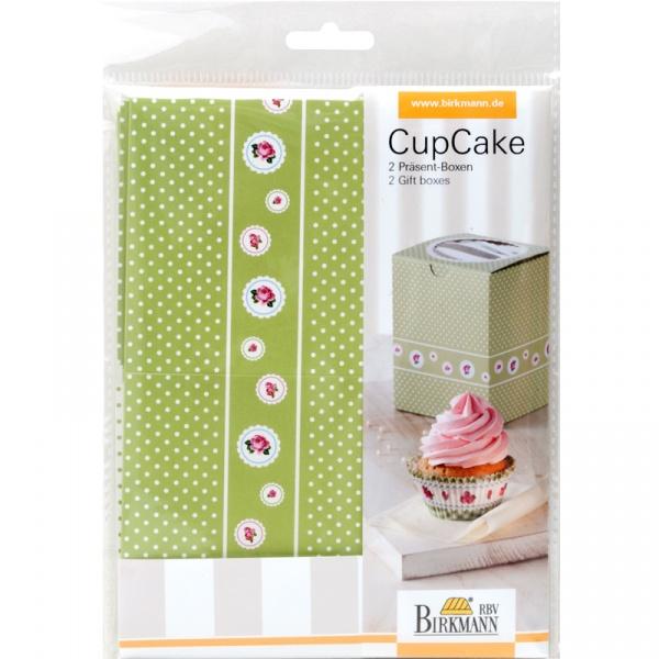 Pudełka prezentowe na 1 cupcake 2 szt. Birkmann Cottage garden 441 170