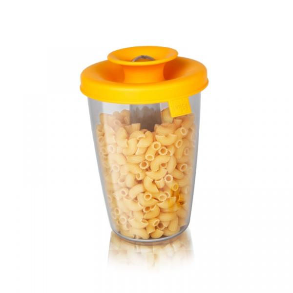 Pudełko do cukru lub ryżu HOP Tomorrow's Kitchen żółte TK-2831960
