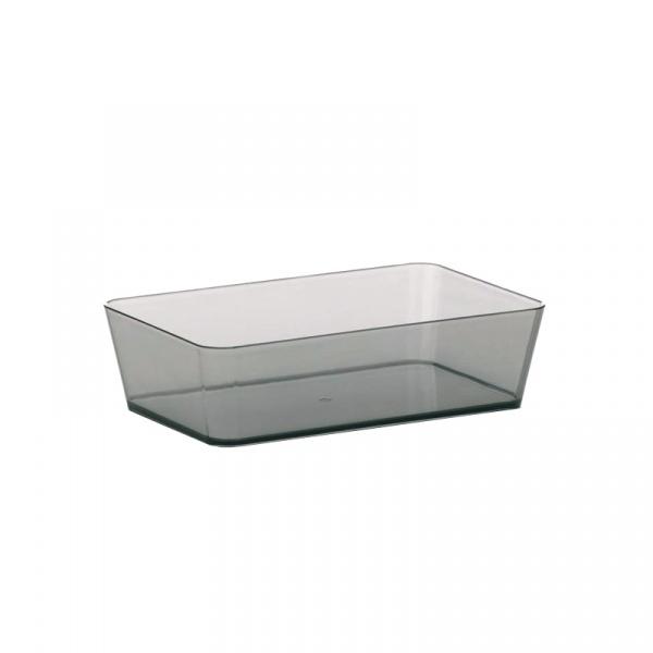 Pudełko na akcesoria łazienkowe Kela Kristall KE-21950
