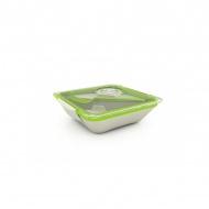 Pudełko na lunch Black+Blum Bon Appetit biało-zielone