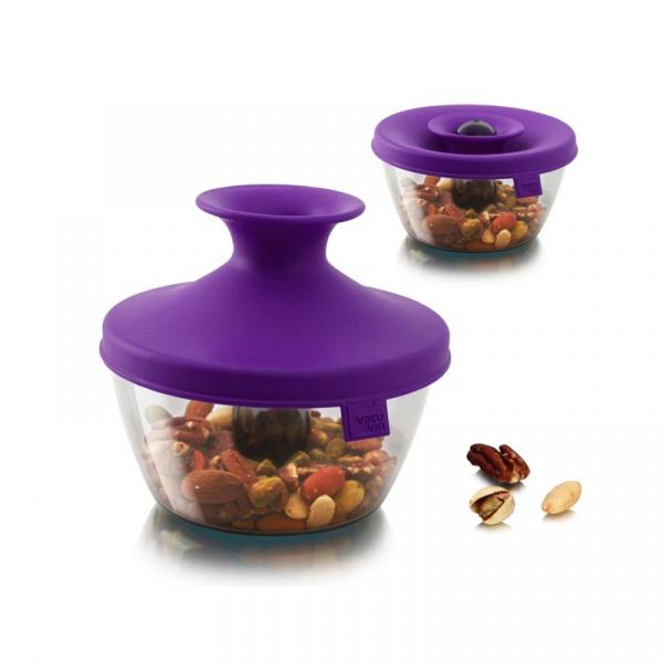 Pudełko na przekąski HOP Tomorrow's Kitchen purpurowe TK-2830860