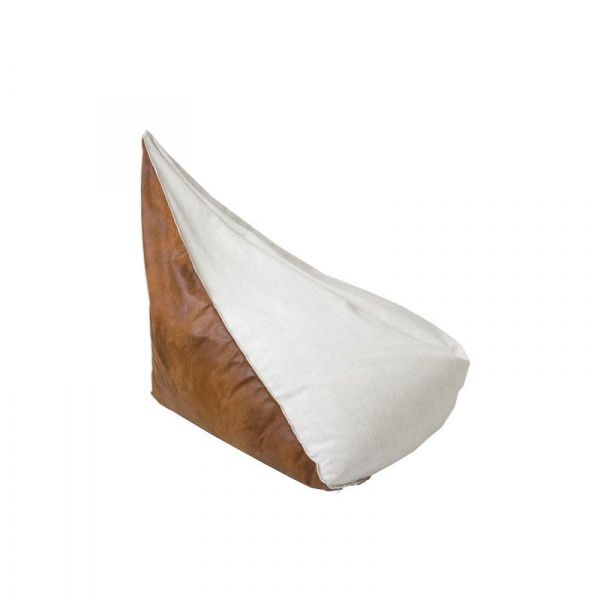 Puf duży Gie El biały FST0180