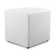 Pufa Rubik Kokoon Design biały