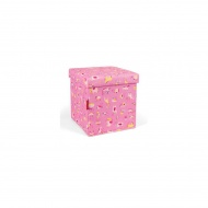 Pufa sitbox kids abc friends pink