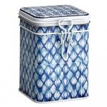 Puszka na herbatę 150g Eigenart Mozaika indigo