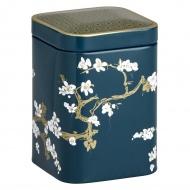 Puszka na herbatę 50g Eigenart Kwiat Wiśni ciemna zieleń