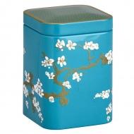 Puszka na herbatę 50g Eigenart Kwiat Wiśni turkusowa