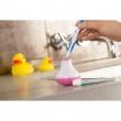 Quirky Bobble Brush - Timer do mycia zębów z uchwytem (niebieski) PBBT1-XBEU