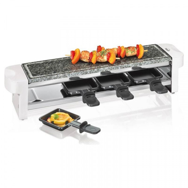 Raclette grill stołowy Kuchenprofi biały KU-1781002200