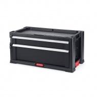 Regał 2 szuflady TOOL CHEST (czarny) Keter PRO