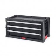 Regał, szafka na narzędzia (3 szuflady) Tool Chest Keter PRO