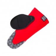 Rękawica kuchenna antypoślizgowa Nytta Design czerwone