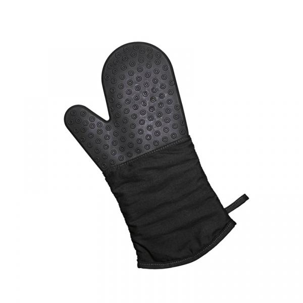 Rękawica silikonowo-bawełniana Lurch czarna LU-00070090