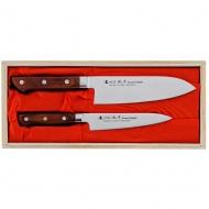 Satake Kotori Zestaw 2 noży uniwersalny + Santoku