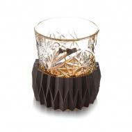 Schładzacz do whisky Vacu Vin czarny