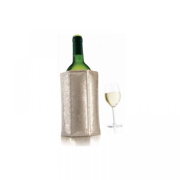 Schładzacz do wina i szampana Vacu Vin platynowy VV-3887560