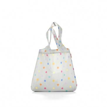 Siatka Reisenthel Mini Maxi Shopper stony grey dots
