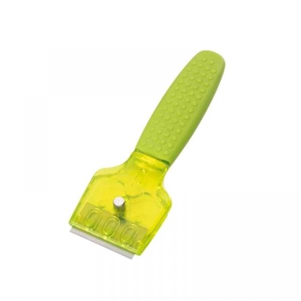 Skrobak do płyt ceramicznych 16 cm Kuchenprofi zielony KU-1310230000-ZIE