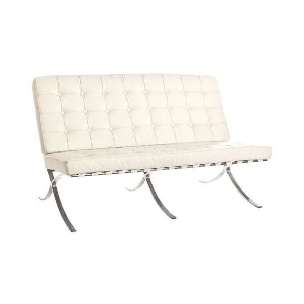 Sofa pikowana Barcelon King Home biały AA-ST-03-2.WHITE