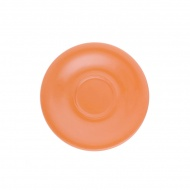 Spodek pod kubek 18 cm Kahla Pronto Colore pomarańczowy