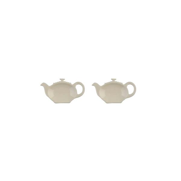 Spodki pod torebki herbaty/łyżeczki 2 szt. Le Creuset beżowe 91035607810010
