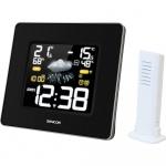 Stacja pogodowa z bezprzewodowym czujnikiem do pomiaru temperatury i kolorowym wyświetlaczem Sencor