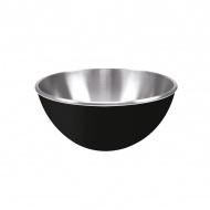 Stalowa miska 16 cm Zak! Design czarna