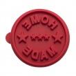 Stempel drewniany do ciastek Home Made Birkmann Owls czerwony 340 169