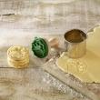 Stempel drewniany do ciastek mini ANIOŁEK Z TRĄBKĄ Birkmann 340 367