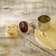 Stempel drewniany do ciastek mini KOŃ NA BIEGUNACH Birkmann 340 374