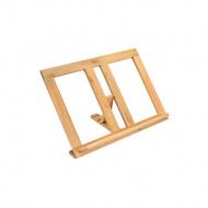 stojak na książkę kucharską, bambus, 35 x 26 x 5 cm