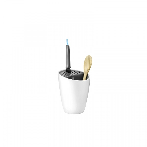 Stojak na noże i narzędzia kuchenne Rig-Tig Organise biały Z00023