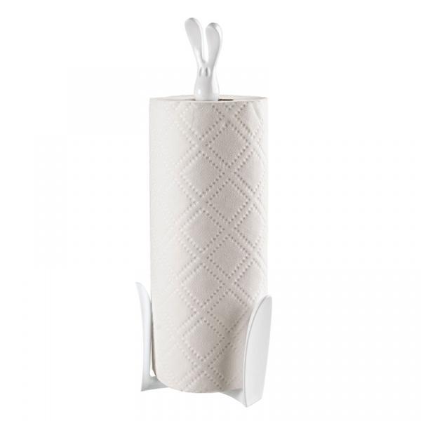 Stojak na ręczniki papierowe biały Koziol Roger KZ-5226525