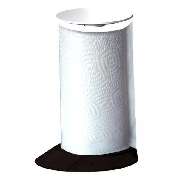 Stojak na ręczniki papierowe Casa Bugatti Glamour czarny GLNU-02162