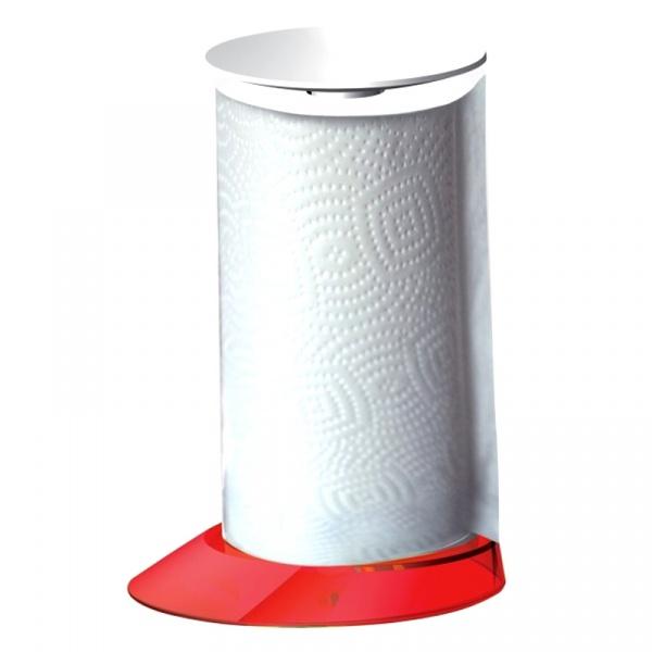 Stojak na ręczniki papierowe Casa Bugatti Glamour czerwony GL3U-02162