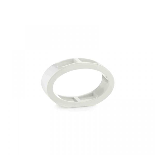 Stojak na szczoteczki do zębów Kela Mirage biały KE-22407