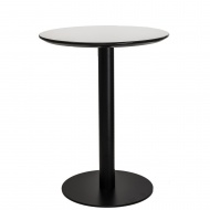 Stół Anken 60cm D2 czarno-biały