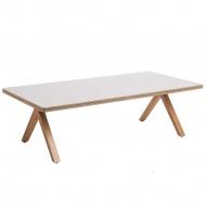 Stół Bruno 120x60x35 cm D2.Design naturalny