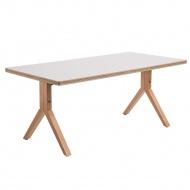 Stół Bruno 120x60x45 cm D2.Design naturalny