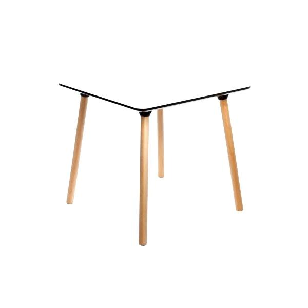 Stół do jadalni 80x80x77cm D2 Next biały DK-41254