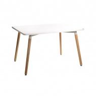 Stół do jadalni Copine D2 80x120cm biały