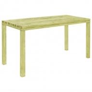 Stół ogrodowy, 150x75,5x77 cm, impregnowana sosna FSC