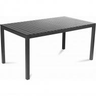 Stół ogrodowy 153,5x90x74cmFieldmann czarny