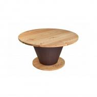 Stół okrągły do jadalni 150 cm Quentin Design modrzew