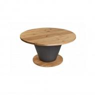 Stół okrągły do jadalni 150cm Quentin Design dąb