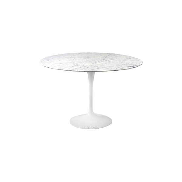 Stół okrągły do jadalni 90 cm D2 Fiber marmur DK-3530