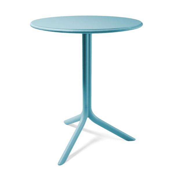 Stół okrągły ogrodowy 61cm D2 Spritz niebieski DK-28554