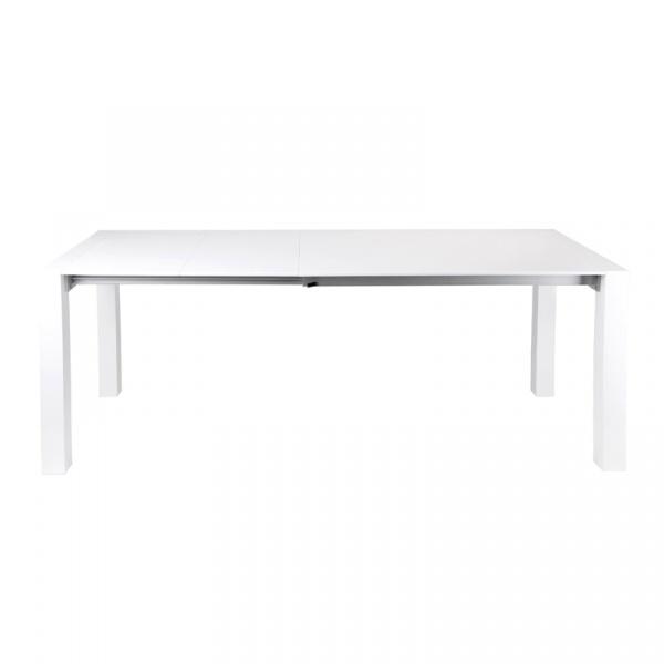 Stół rozkładany do jadalni 120/200x80x75 D2 Lucente biały 5902385701280
