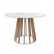 Stół Vertical 120 cm biały